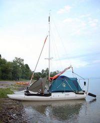 Inflatable catamaran 19